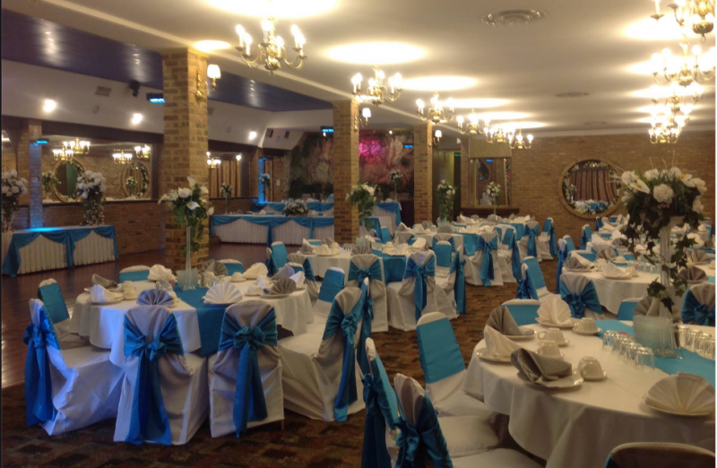 Picture Gallery - Decorated interior for Wedding Receptions ...