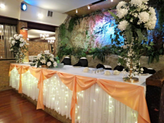 Reception Decor at Royalty East Banquet Hall in Chicago IL. Elegant facility for your Wedding Receptions,Quinceañeras,Cotillions,Communions, Family Events.