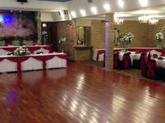 Perfect wedding reception decorations for your wedding. Do you dream of an elegant black/red and white  wedding reception? Wedding décor ideas for your ceremony and reception in Chicago IL.60629