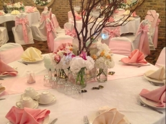 Nice banquet hall decoration for your wedding and quinceanera