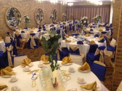 White Gold And Blue Wedding Decor The Best Wedding Picture In The